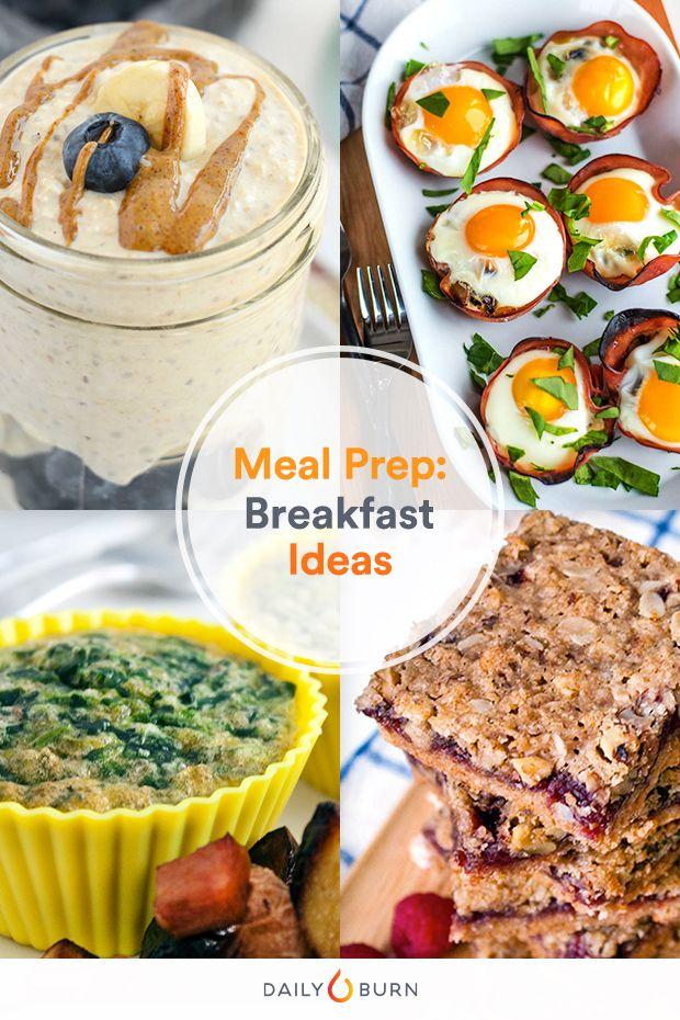 Not a Morning Person? 7 Make-Ahead Breakfast Ideas via @dailyburn