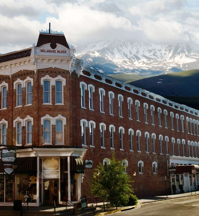 Delaware Hotel | Leadville Colorado Great place to stay! Golden Burrito next door good eats