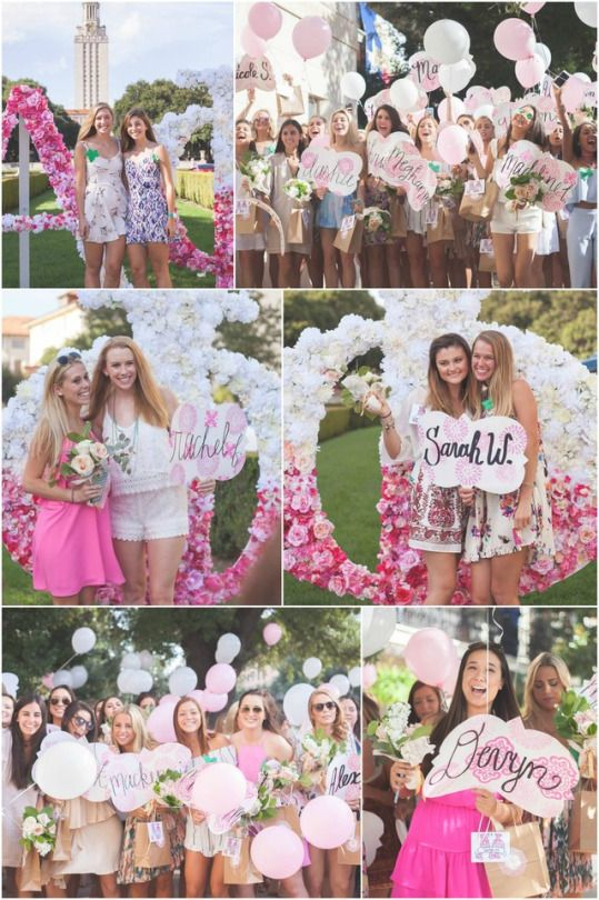 Beautiful blooming PINK FLORAL theme at AΦ • Ω!