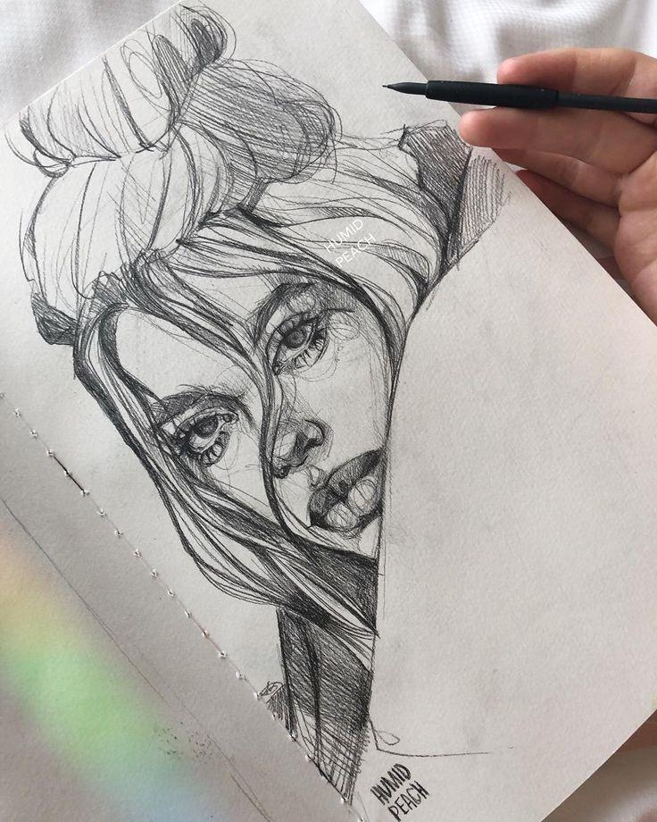 Новогодние открытки, идея для рисунка карандашом