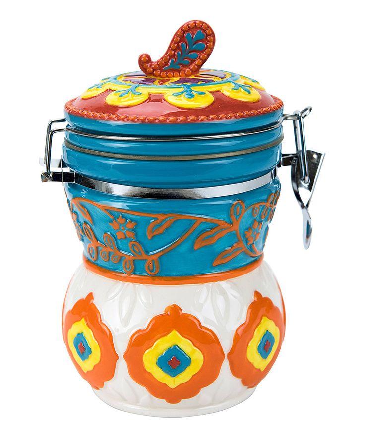 Take a look at this Caravan Elephant Hinged Jar today!
