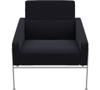 3300 - 3300, Easy chair, Hallingdal, Black