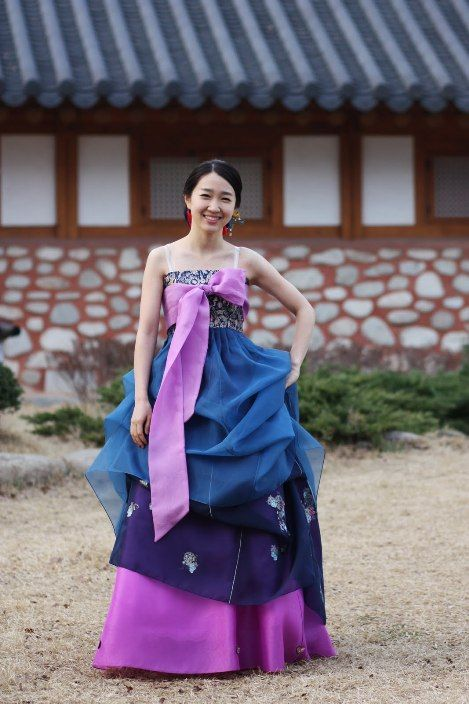 Beautiful modern hanbok