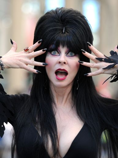 What They Look Like Now: Elvira (Cassandra Peterson) at 64, and still so incredible. Can you believe she once went out with Elvis?
