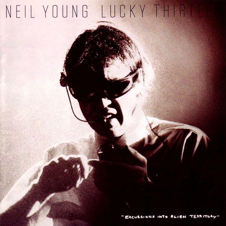 Neil Young Lucky Thirteen - cassette