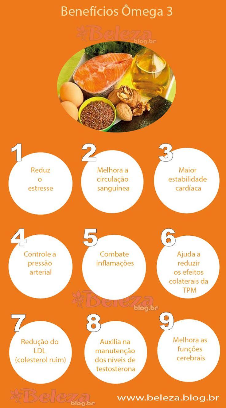 Benefícios Ômega 3