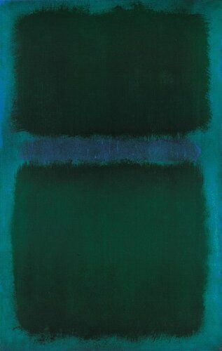 dailyrothko: Mark Rothko, blue green blue, 1961 (ALONGTIMEALONE)