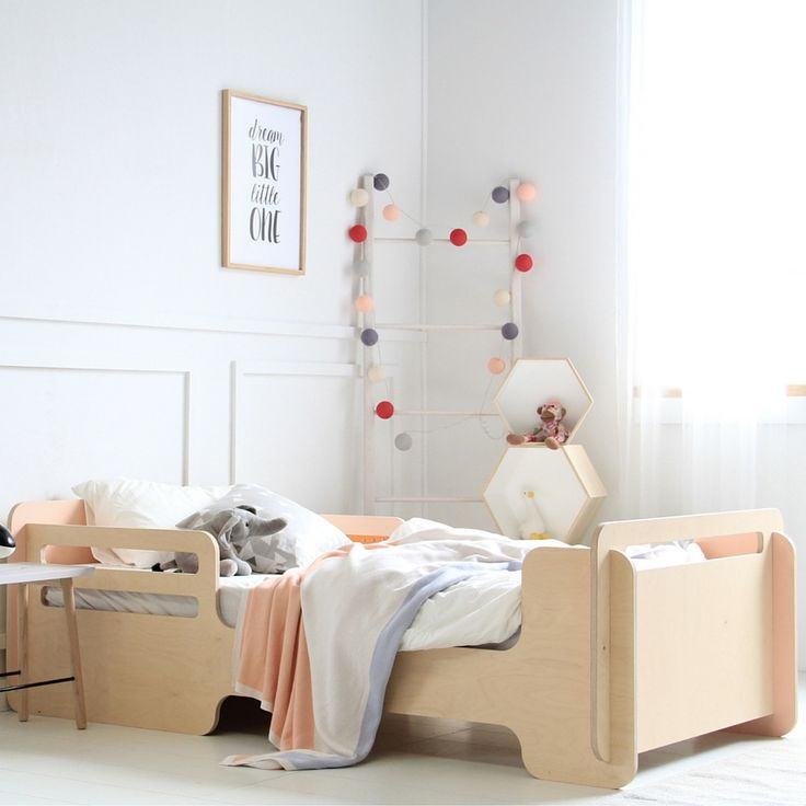 The single bed by MuBu Home called Knect4 is a toddler friendly design that fits a standard size single mattress. A safe and exciting bed design, buy it now!