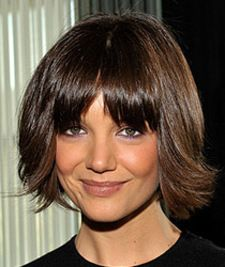 Never noticed how cute Katie Holmes hair was. Probably cuz she was married to a cray-cray scientologist. Now that I'm done judging her personal life, I can focus on what's important- her hot hair!