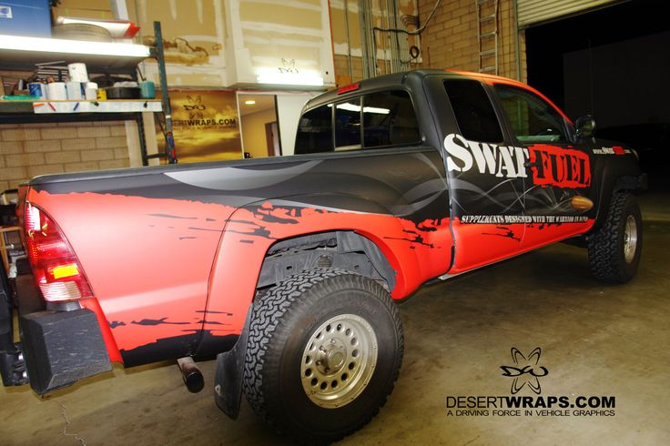 A bright wrap designed by the right people can draw wanted attention to your brand. We keep you in mind throughout the whole design and installation process. Let's get started on your wrap Call us today 760-935-3600 or visit us online at DesertWraps.com #truckWrap #Swat #matte #cargraphics #3m