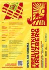 Freiluftkino Kreuzberg Flyer