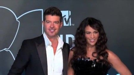 SNTV – Robin Thicke's Wife Paula Patton Officially Files for Divorce