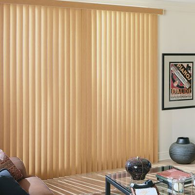 Hampton Bay: Faux Wood Vertical Blinds