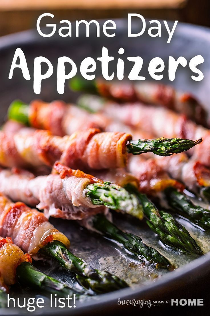 Perfect Game Day Snack Recipes, Best Game Day Menu Recipes, Game Day Appetizers and Easy Game Day Recipes