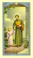 Saint Joseph Holy Card (800-043) $0.75
