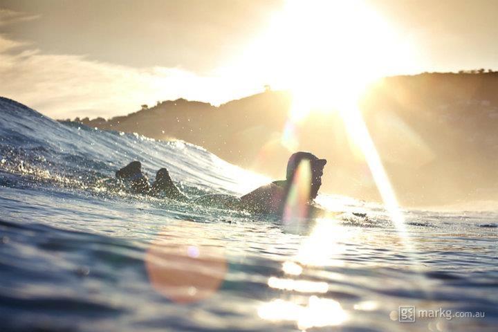 Sunset surfer  |  www.markg.com.au  |  www.facebook.co./markgphoto