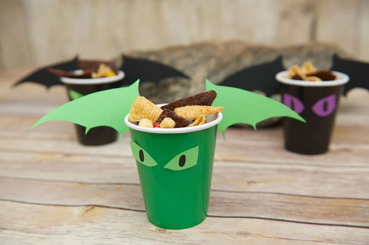 Viking and Dragon Party Kid CraftsKix Cereal                              …