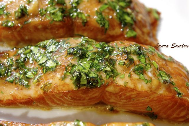 Little Chef and I: Cedar Plank Salmon with Whisky Marinade.