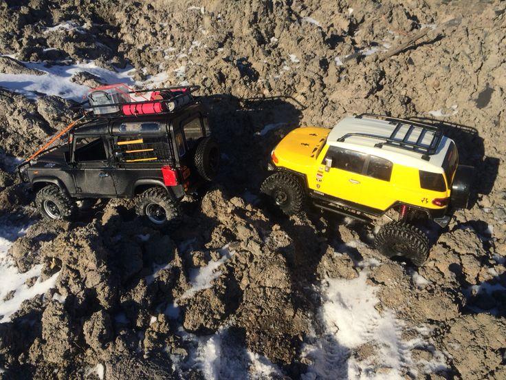 Geland 2 D90 and FJ Cruiser winter trail by drekas RC crawlers - www.drcmotion.com
