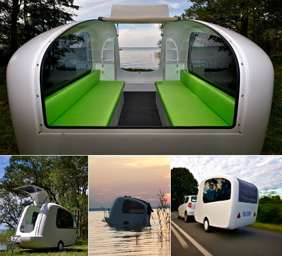 1000 images about eco campers small for bicycles Sealander caravan