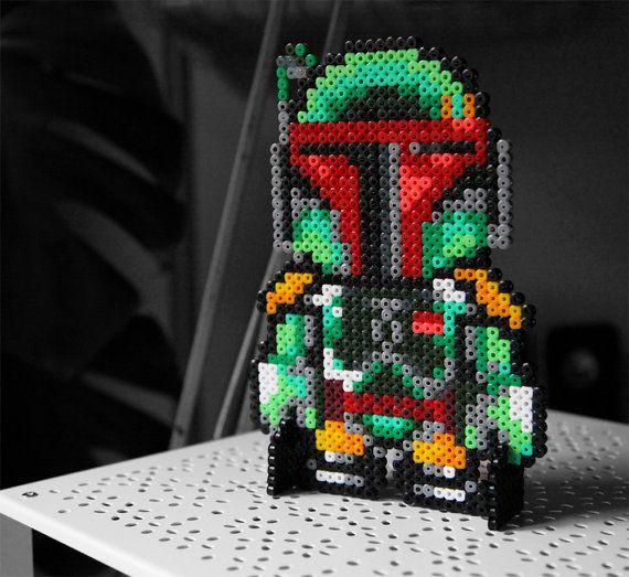 Star Wars Boba Fett Decoration Figure Standalone by BeadxBead, €15.00