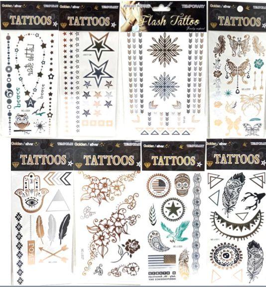 ¿Que son? son unos #tatuajes Brillantes que aportan a cualquier #look ese destello diferente y #Bohemio que caracteriza los últimos gritos de la #moda #2015.