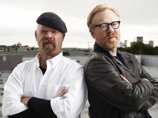Jamie Hyneman and Adam Savage (Mythbusters, Discovery Channel)