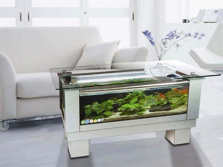 Fish Tank Table, Coffee Table Aquarium, Fish Tanks, Coffee Tables, Home