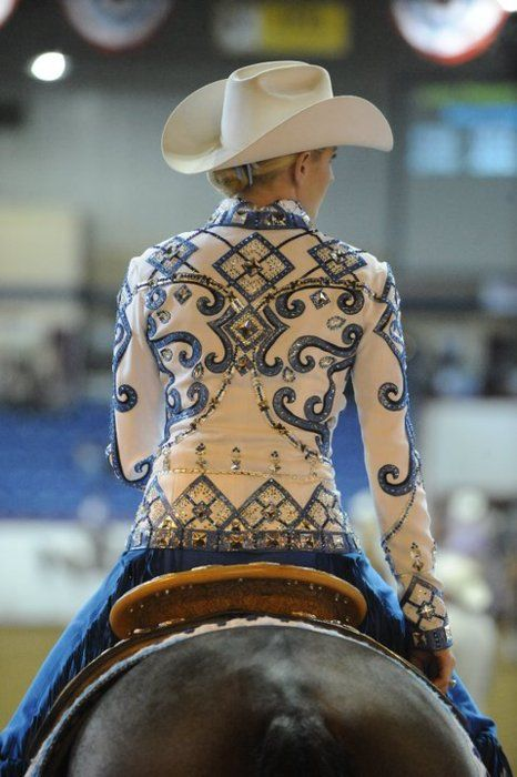 Absolutely gorgeous jacket!  If I rode western this is the jacket I would want!!  Beautiful!