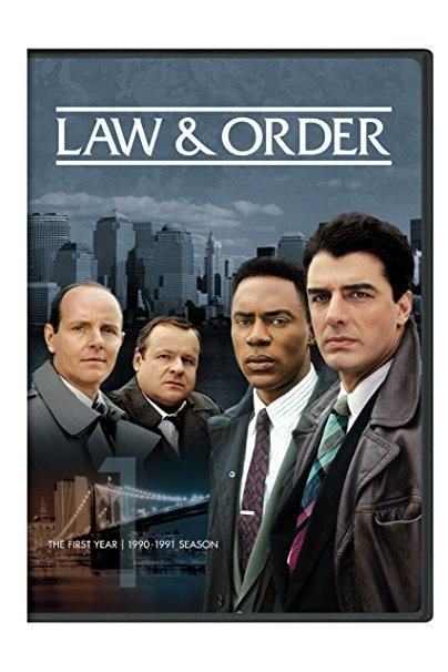 Michael Moriarty & George Dzundza - Law & Order: The First Year