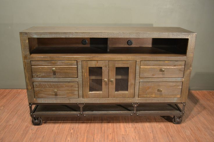 Crafters Weavers Specializes In Reclaimed Wood And Industrial Style Furniture For The Living