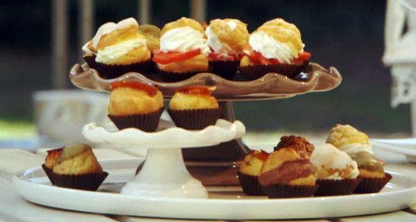 Ecco la ricetta originale dei bignè di Ernst Knam a Bake Off Italia.