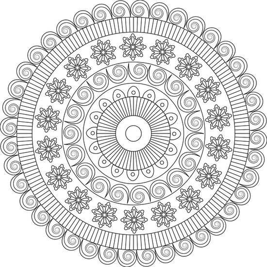 1183 best coloring pages images on Pinterest Coloring pages, Print - best of mini mandala coloring pages