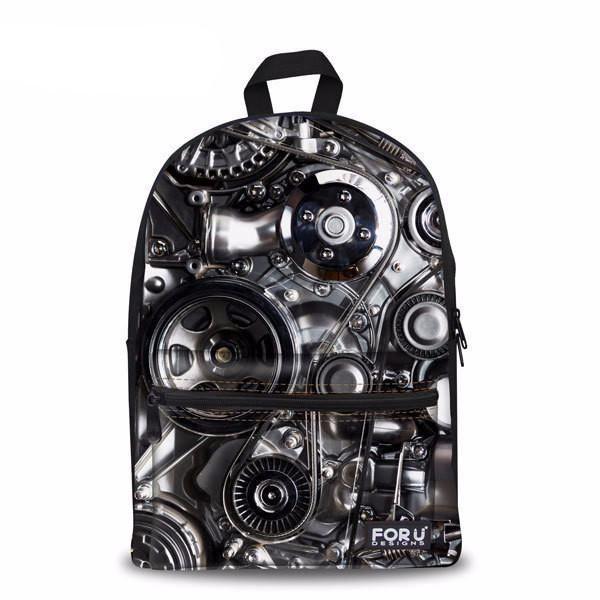 Custom-Designed Backpack