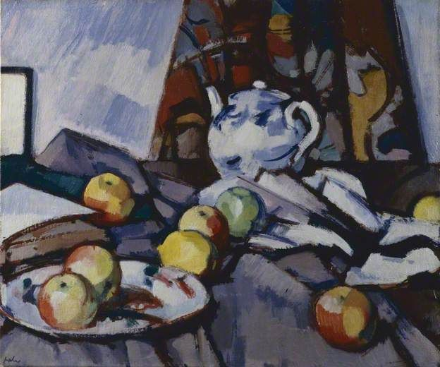 Blue and White Teapot (1917)