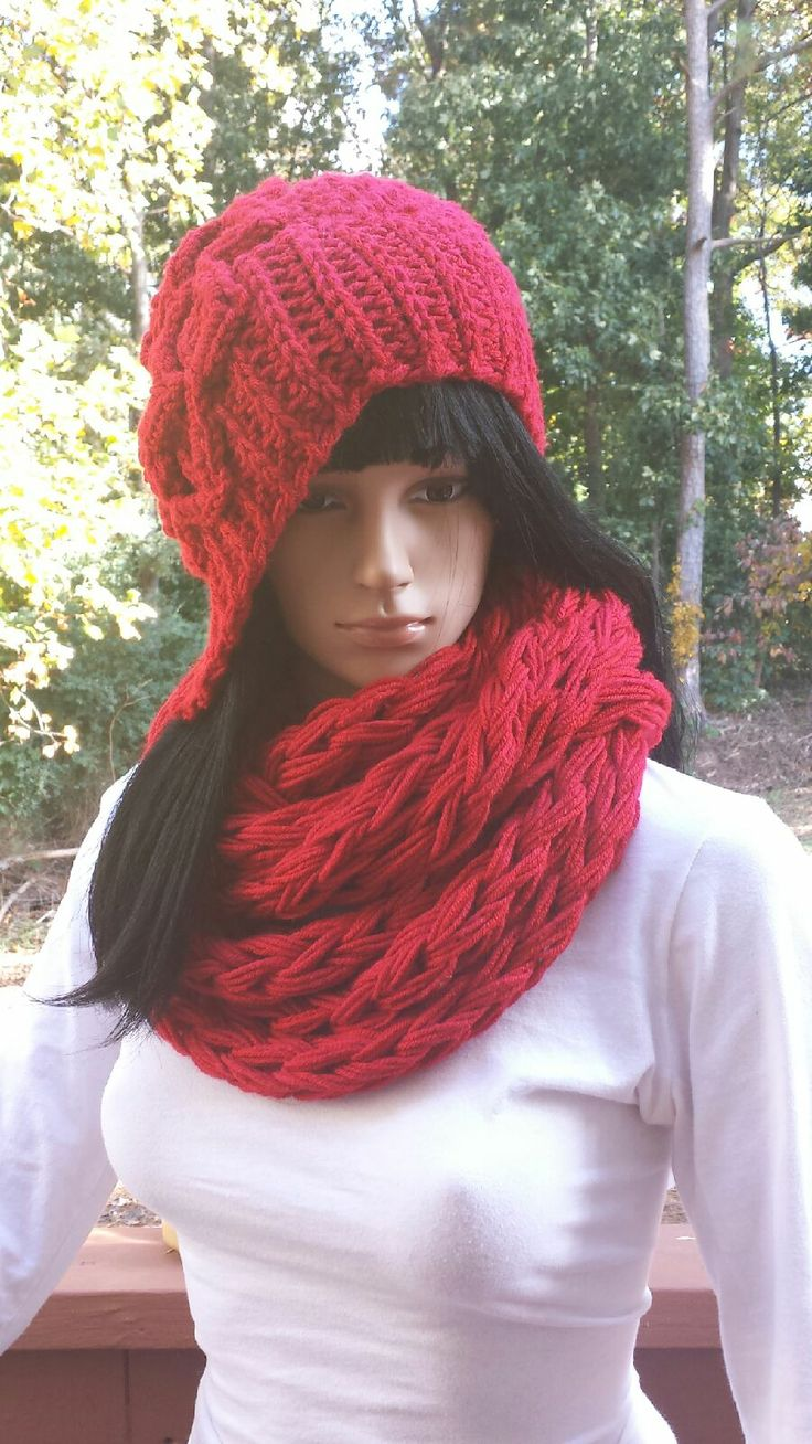 17 Best Images About Crochet Infinity Scarf On Pinterest