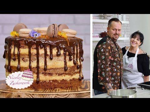 Ich habe einen Special Gast zu Besuch I Seminaked-Drip-Cake - YouTube
