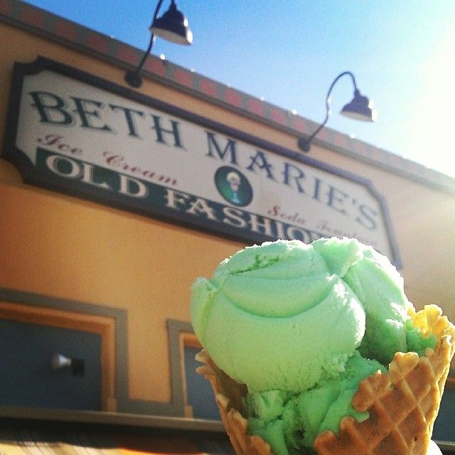 Ice Cream from Beth Maries is a great end to a date! #WDDI
