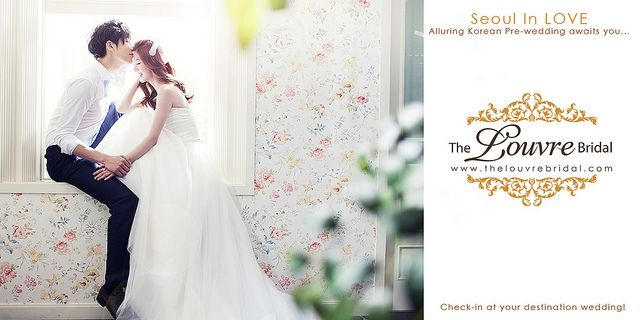Korean Concept Bridal Photography from The Louvre Bridal Singapore (www.thelouvrebridal.com)