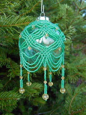 beaded ornament cover                                                                                                                                                      More