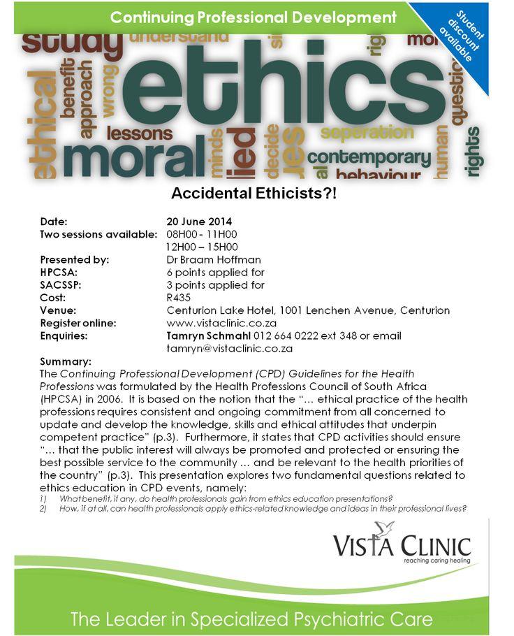 Ethics CPD Seminar