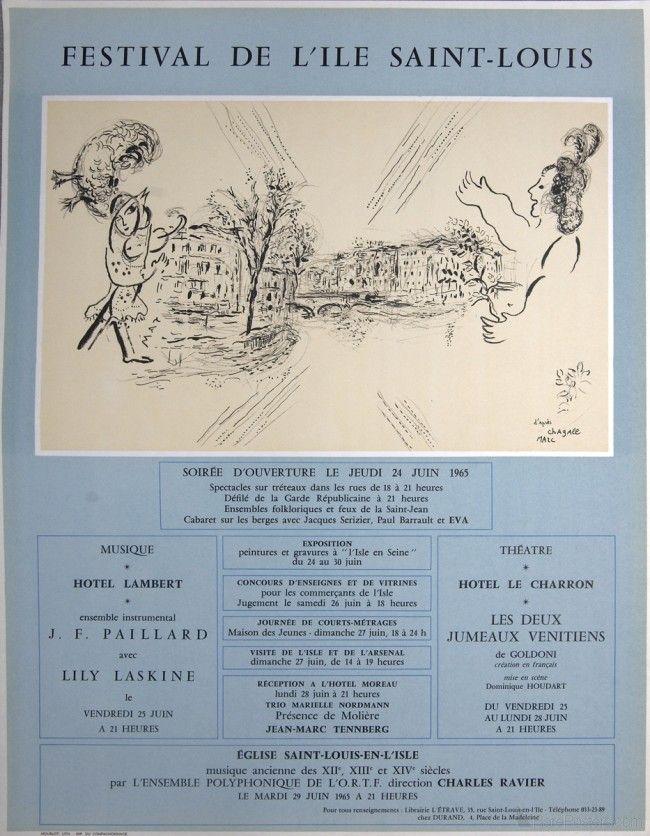 Marc Chagall- Festival De L'Ile Saint-Louis