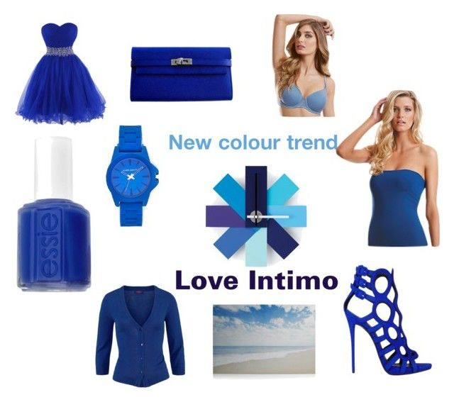 """A splash of colour. #loveintimo #intimogems"" by angela-casha on Polyvore"