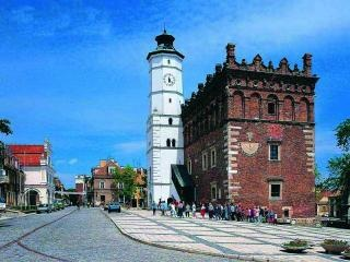 Sandomierz, Poland, Market Square (Rynek)