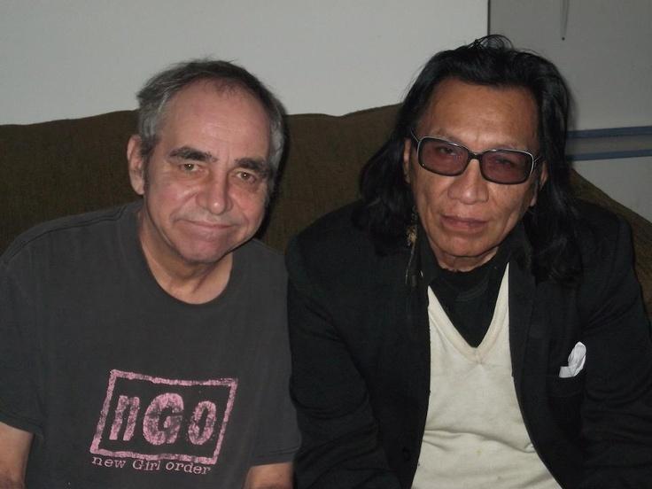 Detroit visual artist/brick sculptor Jerome Ferretti and Detroit musician Sixto Rodriguez!!