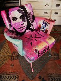 graffiti furniture - Google Search