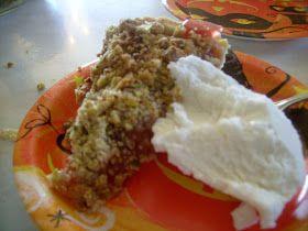 Flourchild: Sour Cherry Pie With Pistachio Crumble