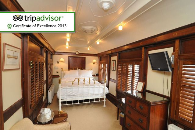 2nt Luxury Railway Carriage for 2