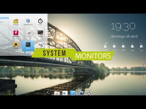 COMPLETE GUIDE : CONKY SYSTEM MONITOR - YouTube