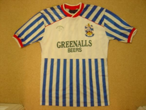 Huddersfield Town Home football shirt 1987 - 1988